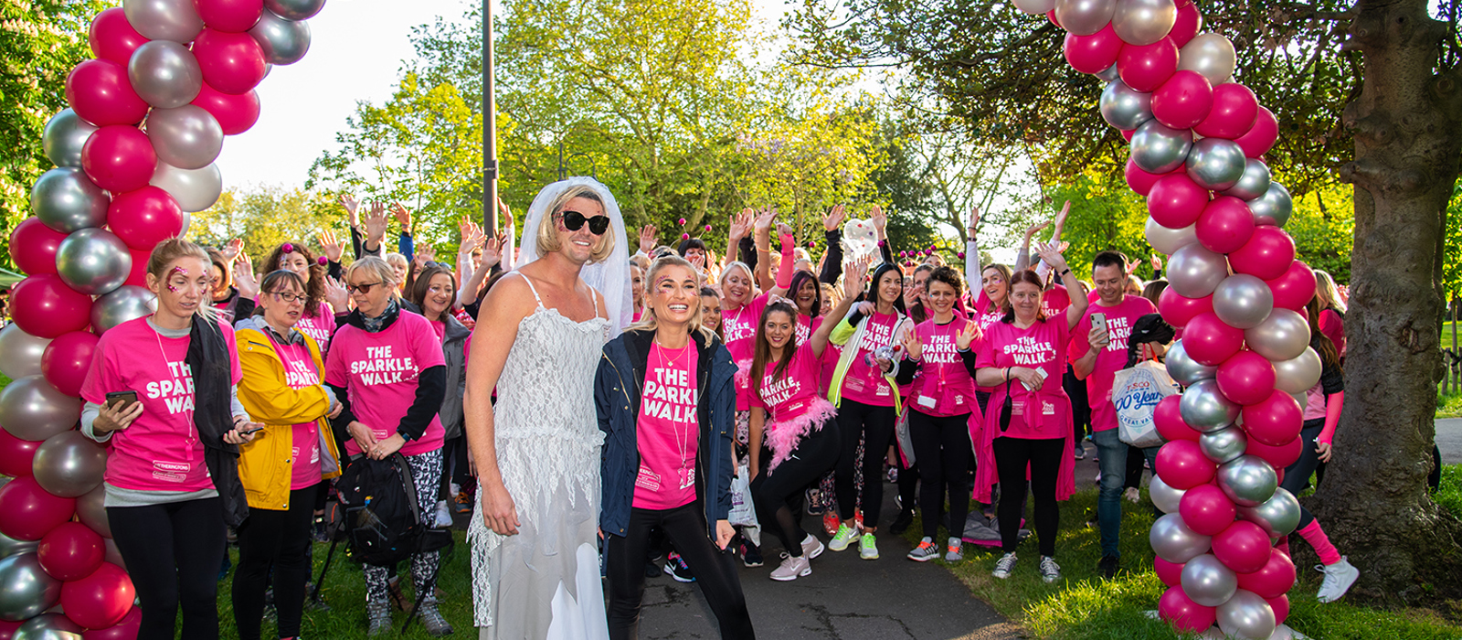 300 supporters Sparkle for hospice