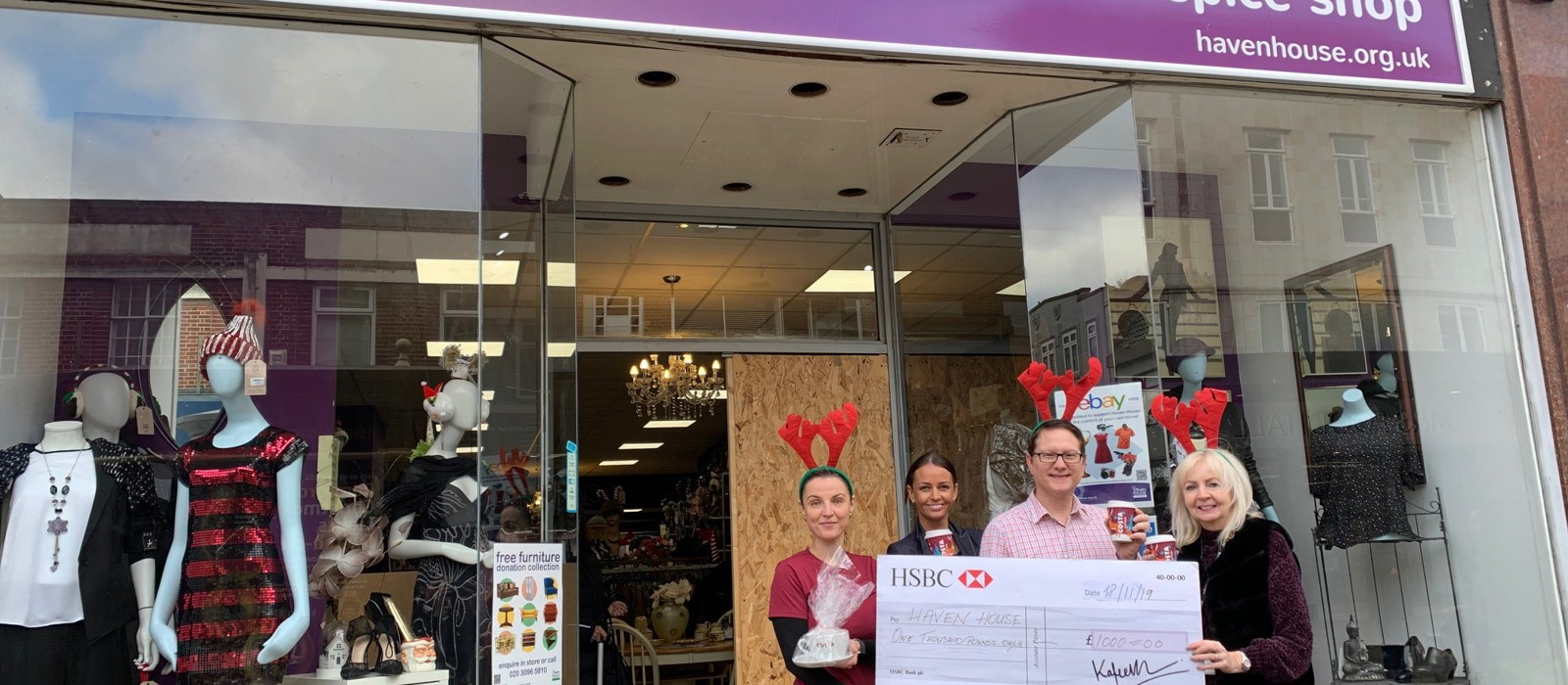 Hospice thanks community after shop break in