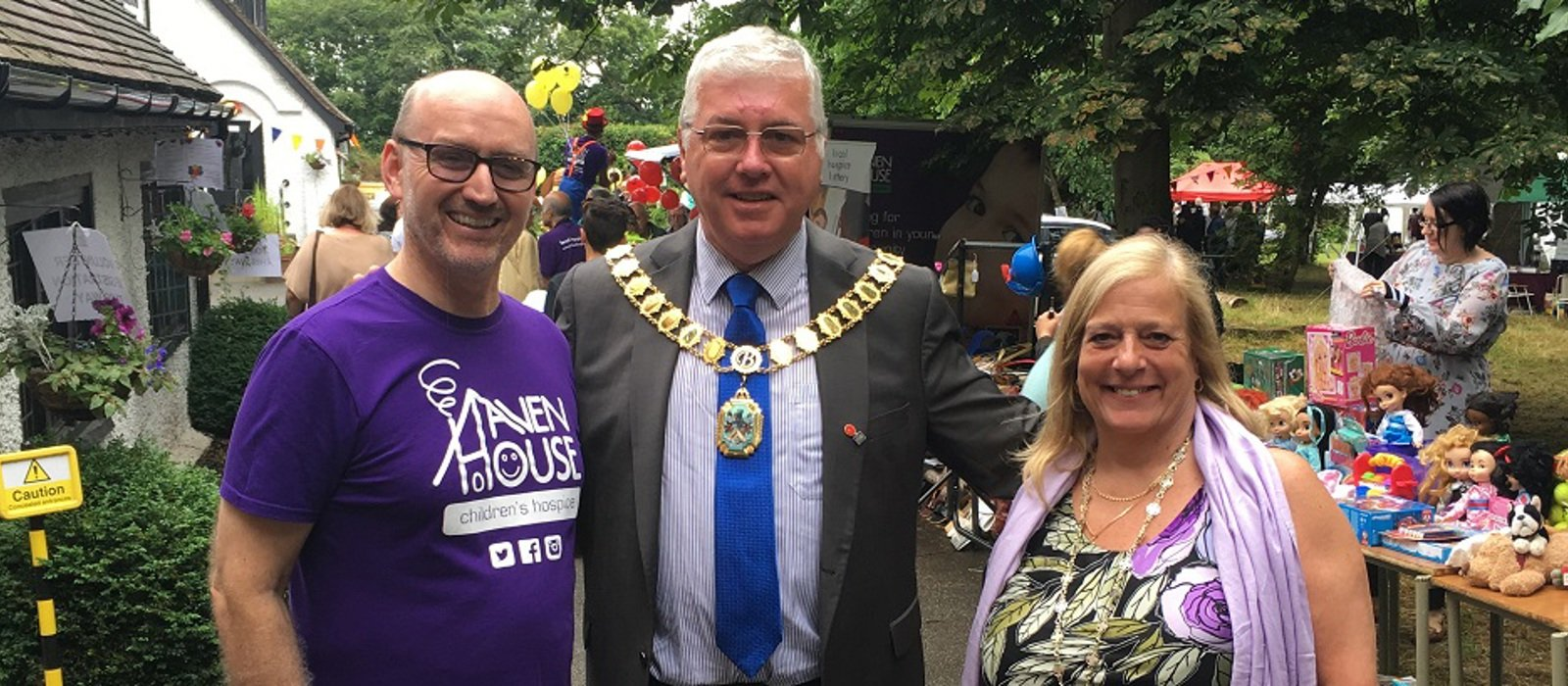 Mayor of Broxbourne praises Haven House staff