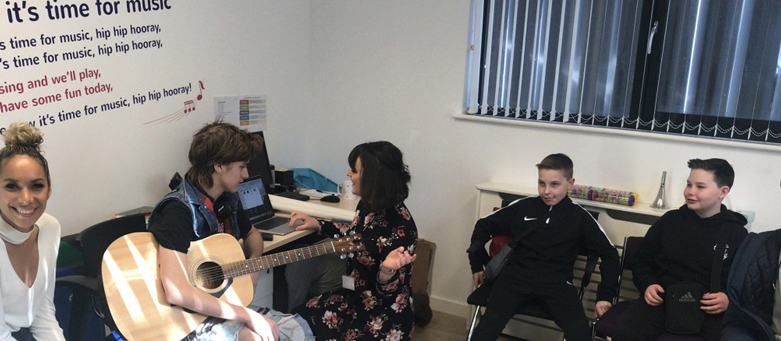 Leona Lewis visits Haven House