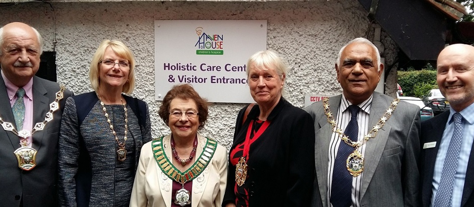 Local mayors visit Haven House