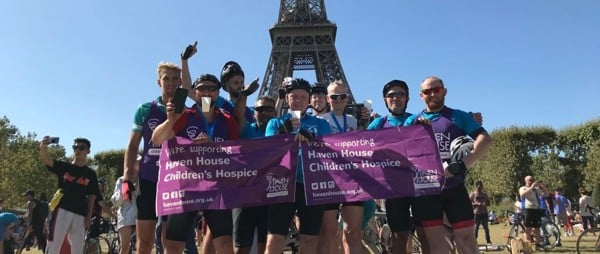London to Paris Cycle