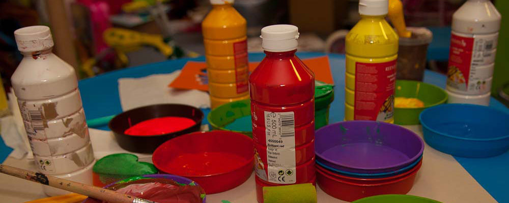 Craft and play at Haven House Childrens Hospice
