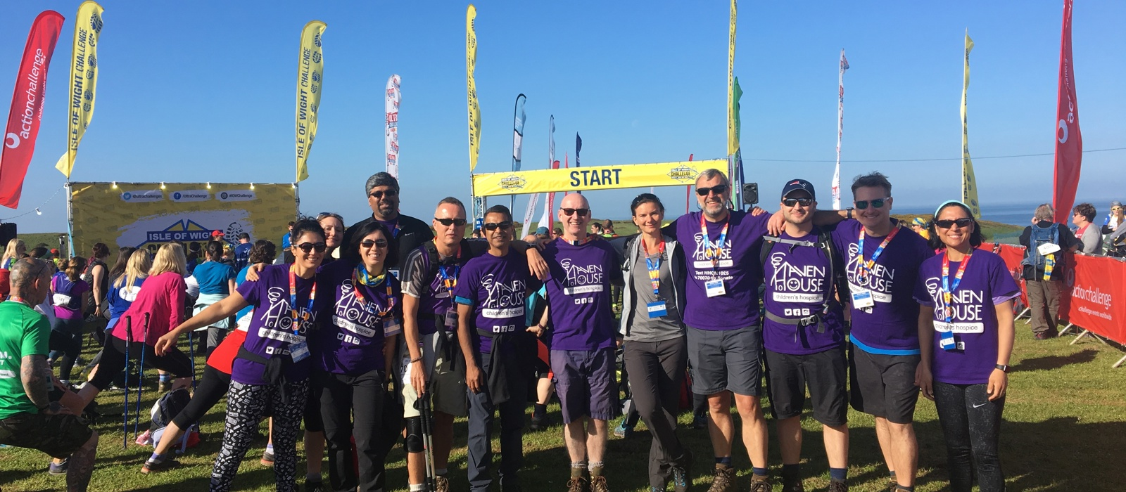 Thames Path and Isle of Wight 100km Team Challenges